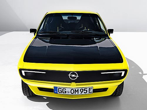 Каким будет возрожденное спорткупе Opel Manta - Opel