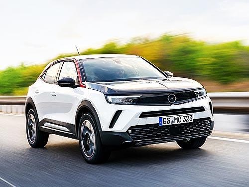 В Украине объявлены цены на новый кроссовер Opel Mokka - Opel