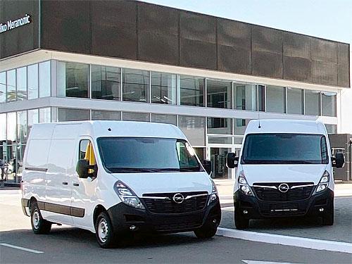 Компания JCB выбрала Opel Movano для своего автопарка - Opel
