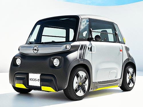 Opel представил необычный электрокар для молодежи. Подробности о новинке - Opel