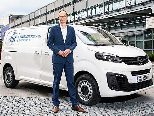 Водородный электрофургон Opel Vivaro-e HYDROGEN сможет заряжаться за несколько минут - Opel