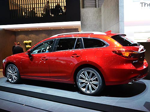 Mazda представила обновленную Mazda6 и универсал Mazda6 Wagon - Mazda