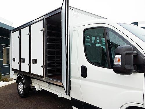 «Первый столичный хлебзавод» выбрал хлебные фургоны PEUGEOT BOXER - PEUGEOT