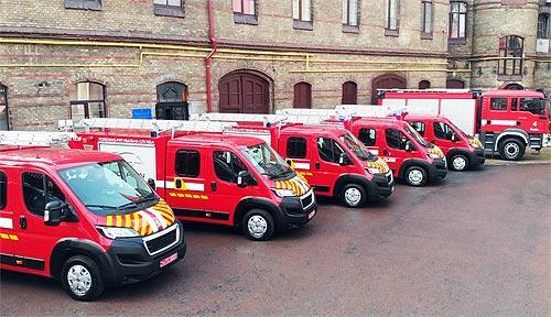 Спасатели Львовской области получили новые пожарные авто на базе Peugeot Boxer - Peugeot