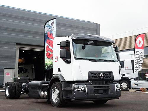vf6 renault франция, грузовики