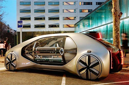 Renault хочет, чтобы автомобили «общались» и с домами