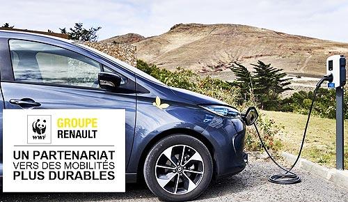 Renault тестирует инновационные решения для зарядки электромобилей
