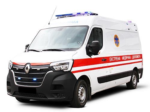 В Украине стартовало производство «скорой» помощи на базе нового Renault Master