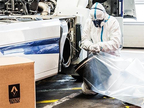 Renault Trucks будет повторно использовать детали грузовых авто