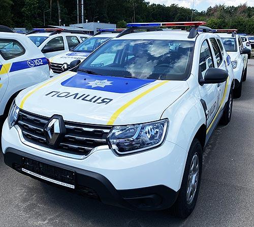 Национальная полиция закупила крупную партию Renault Duster - Renault