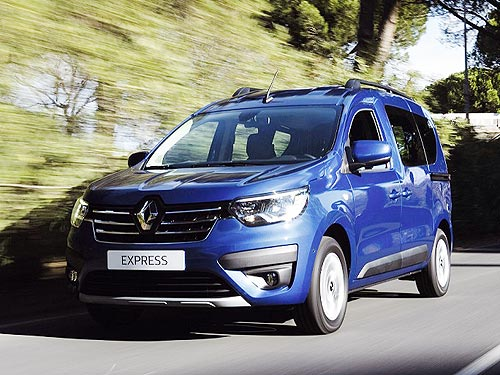 В Украине начали принимать заказы на новый Renault Express - Renault