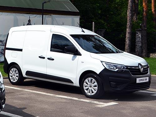 Новый Renault Express получит в Украине заводское ГБО - Renault