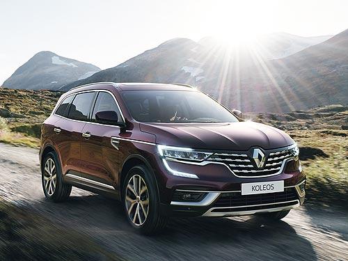 В Украине стартуют продажи обновленного Renault Koleos