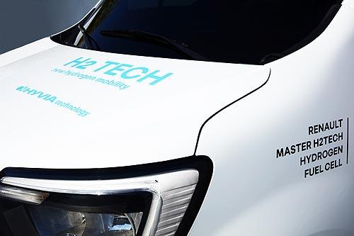 Каким будет водородный Renault Master Van H2-TECH и где он будет заправляться