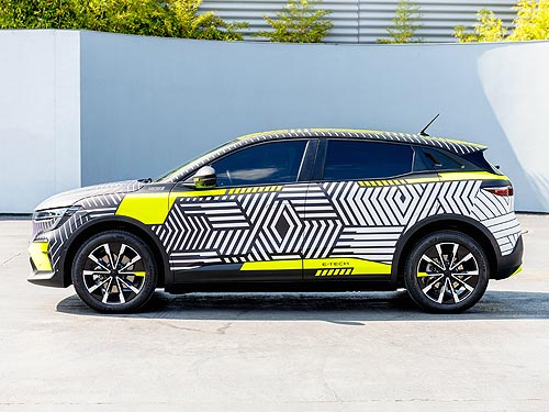 Renault тестирует электрокар Mégane E-Tech Electric в реальных условиях - Renault