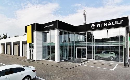 В г. Умань открылся новый дилерский центр Renault