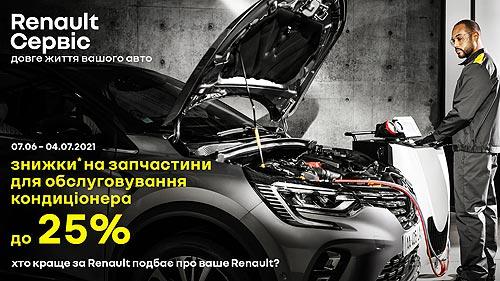 Владельцы Renault могут выгодно почистить и обслужить системы кондиционирования авто