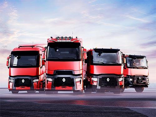 Renault Trucks представит обновление модельного ряда T, T High, C и K - Renault