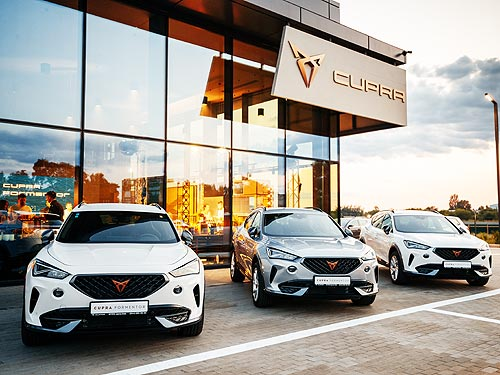 В чем уникальность первого в Украине автосалона Cupra Garage