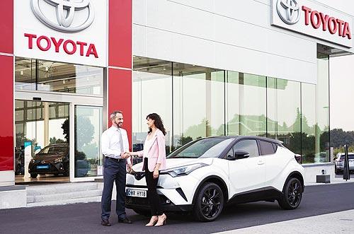 Toyota ищет новых дилеров в трех городах