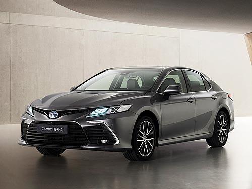 В Украине стартовал прием заказов на обновленный седан Toyota Camry