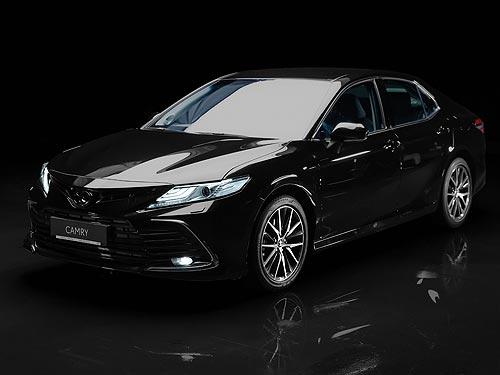 В Украине стартуют продажи обновленной Toyota Camry - Toyota