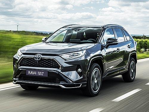 В Украине начали принимать заказы на новый подзаряжаемый гибрид Toyota RAV4 Plug-in Hybrid - Toyota