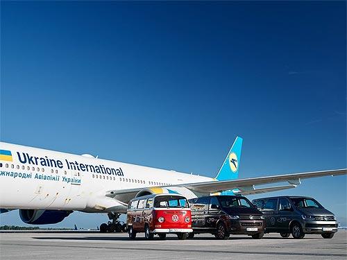 Volkswagen Transporter совершил исторический автопробег по Украине