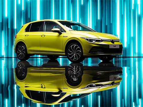 В Украине объявлены цены на новый Volkswagen Golf