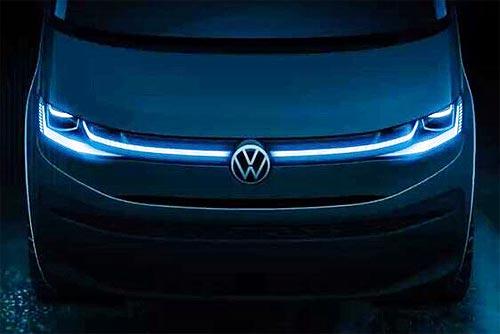 Volkswagen готовится представить новый Multivan