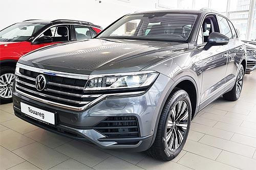 Бензиновый Volkswagen Touareg уже в Украине по привлекательной цене - Volkswagen