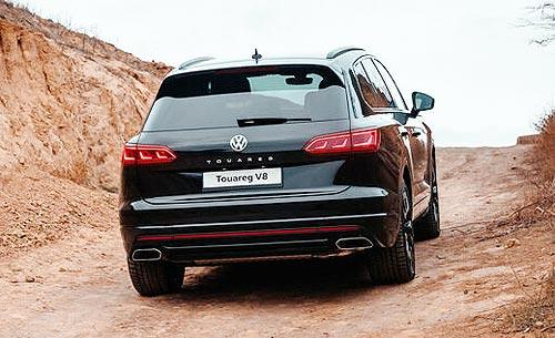 Volkswagen Touareg доступен с пакетом опций с экономией до 457 тыс. грн. - Volkswagen