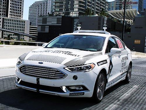 Ford запустил первый коммерческий проект с участием беспилотников - Ford
