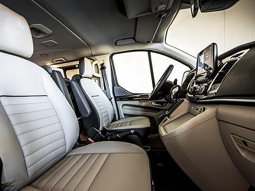 Как ездит и сколько экономит «Фургон Года 2020». Первое знакомство с Ford Hybrid Transit Custom - Ford