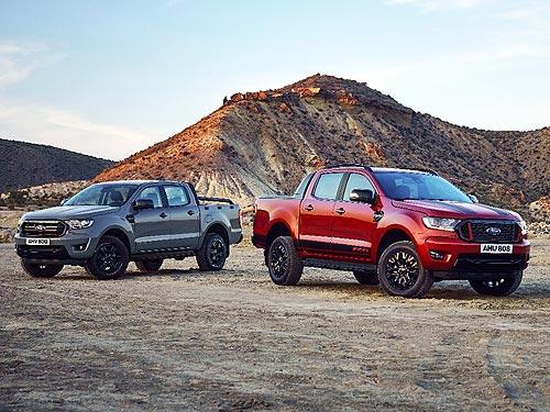 В линейке Ford Ranger появятся две новые модели