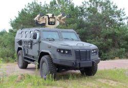 """Бронеавтомобиль """"Козак"""" получил новый боевой модуль"""