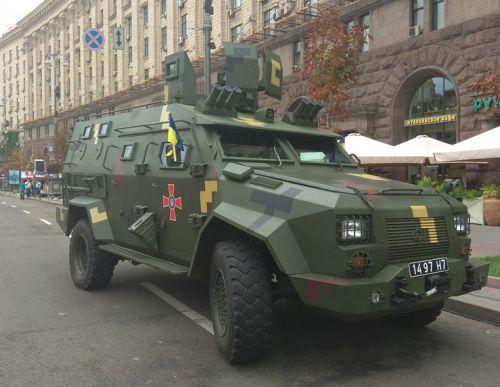 Военная техника Богдан примет участие в параде ко Дню Независимости Украины