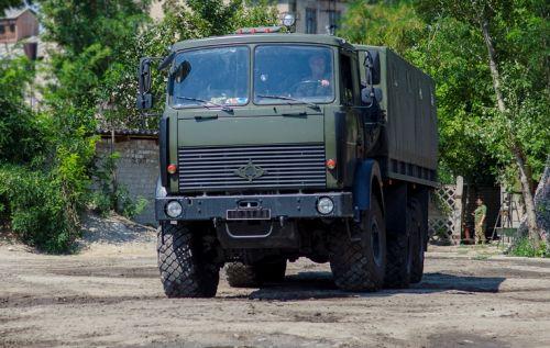 Грузовики Богдан 6317 уже проходят тестовую эксплуатацию - Богдан