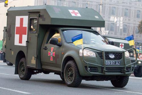 Какие автомобили «Богдан» приняли участие в параде ко Дню Независимости