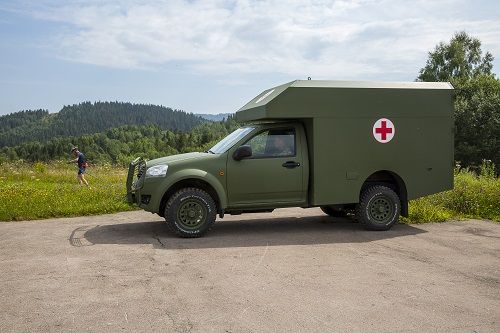 Богдан 2251 начали эксплуатировать в  горных условиях - Богдан