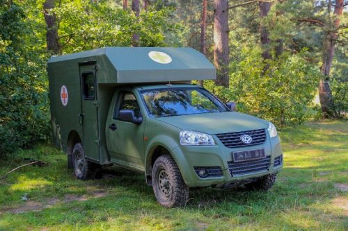Богдан 2251 принял участие в учениях НАТО