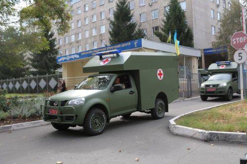 Какую технику для эвакуации раненых закупили для ВСУ за 2015-2020 гг