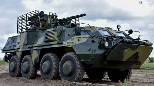 В Украине начали выпускать БТР-4 из отечественной спецстали