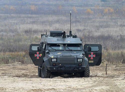 Мобильный миномет на базе Барс-8 уже проходит государственніе испітания - Богдан