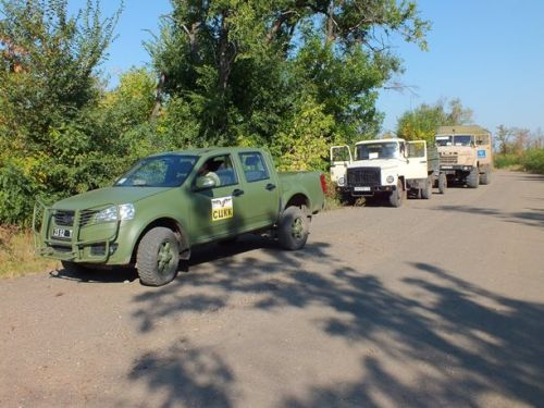 Богдан 2351 задействован в мониторинге обстановки на Донбассе - Богдан