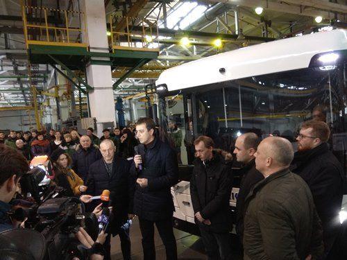 Владимир Омелян: электрогрузовик «Богдан» - это Made in Ukraine в Европейском Союзе - Богдан