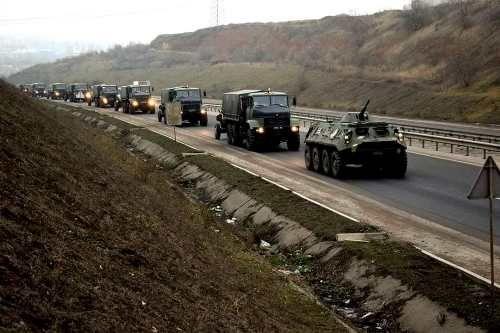 Богдан 2251 приняли участие в учениях в условиях военного положения