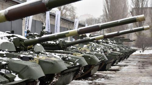 Сколько военной техники было передано в ВСУ в 2018 году