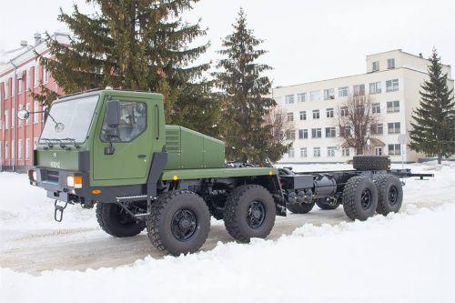 КрАЗ в 2019 году начал поставку шасси для украинских ракетных систем