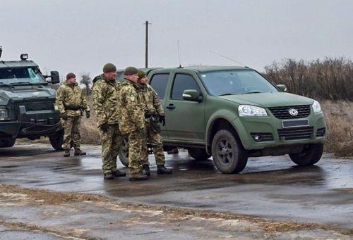 Новые внедорожники Богдан 2351 поступили в распоряжение десантников